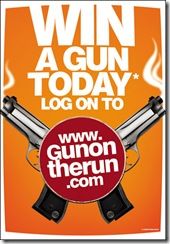gun on the run contest aage se right