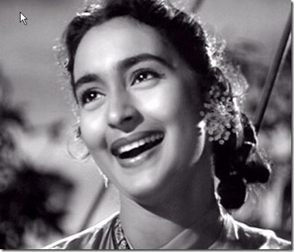 Nutan old bollywood actress from black n white era