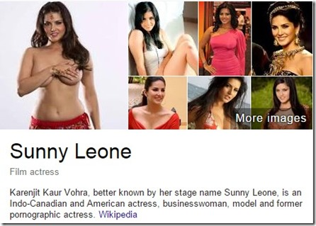 who is Sunny leone