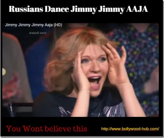 mithun chackraborthy song disco dancer song jimmy aaja sung by russians