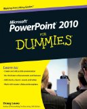 PowerPoint 2010 For Dummies (For Dummies (Computers))