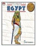 Lorenz Corporation MP8818 Ancient Egypt- Book & PowerPoint CD- Grade 4-6