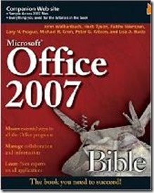 office 2007 book and guide